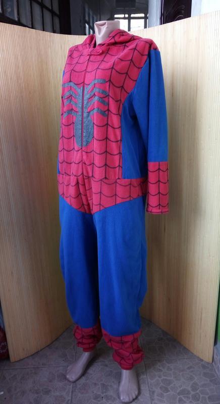 Флисовая пижама кигуруми человек паук унисекс marvel comiks1 ... 8a0ca957e21e7