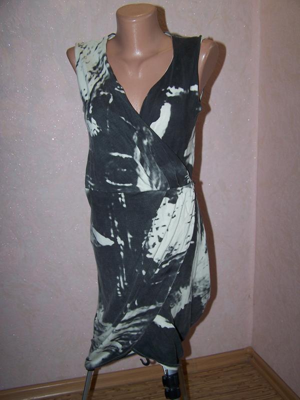 eab2d9a56d4 Самое модное платье на запах religion 3d тай-дай1 ...