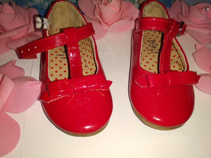 a5807612c31558 Красные лаковые туфли для девочки mothercare Mothercare, цена - 80 ...