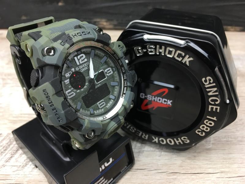 6fa9c2d4 Мужские часы в стиле casio g-shock gwg-1000 militari чоловічий годинник  касіо1 фото ...