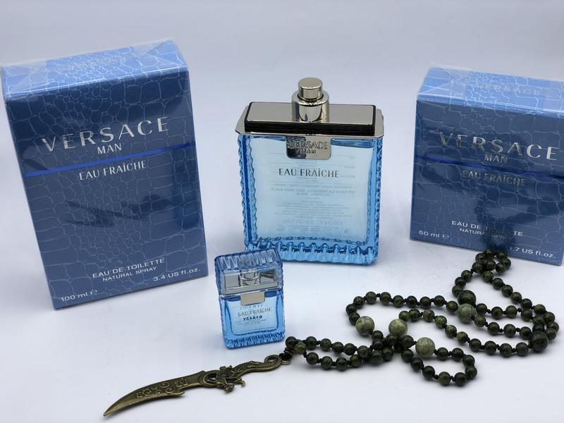 Парфюм оригинал 100% versace eau fraiche men 100ml Versace 5e15ad69328d4