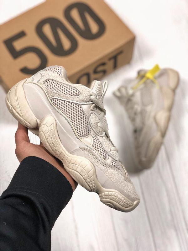3ab5a1b0 Шикарные кроссовки adidas yeezy 500 blush (мужские/ женские), (весна/лето  ...