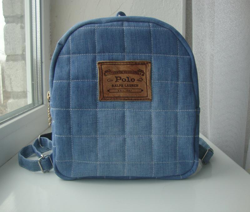 7e260369a178 Джинсовые рюкзаки, сумки на весну лето ручная работа Ralph Lauren ...