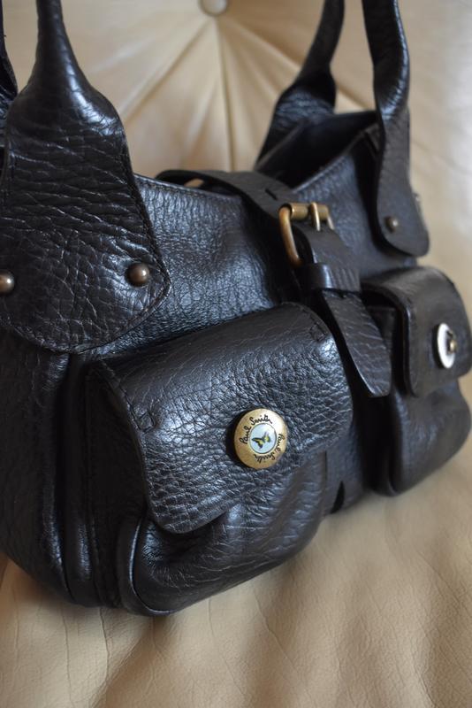 d35bccf7 Vip – paul smith – небольшая кожаная сумка - 100% натуральная мясистая  кожа1 ...
