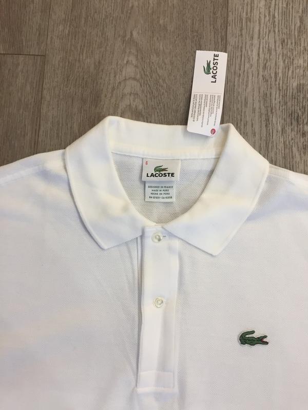 d9b30e34 Белая мужская футболка lacoste Lacoste, цена - 500 грн, #20102153 ...