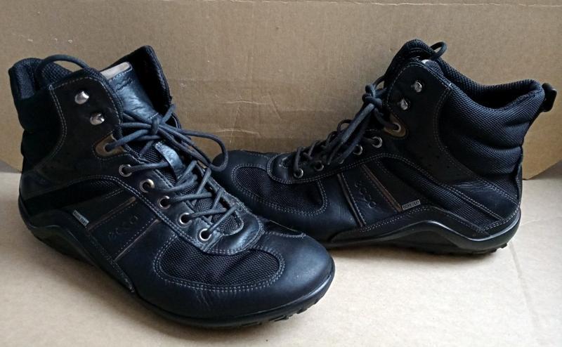 Женские кожаные спортивные туфли хайтопы фирмы ecco Ecco 0b2e3062675d5