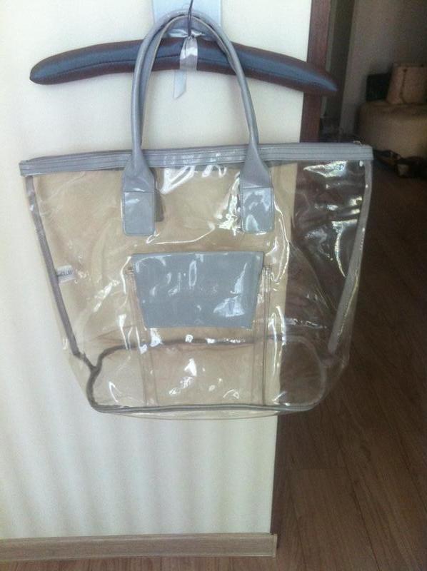 33e58fba7a6c Фирменная прозрачная пляжная сумка anna club by la perla, цена - 80 ...