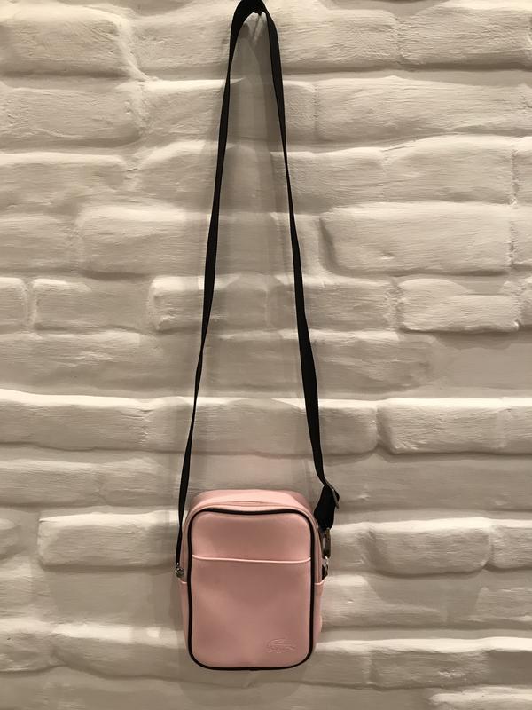 72863fdd1692 Lacoste женская сумка розовая 100% оригинал! Lacoste, цена - 380 грн ...