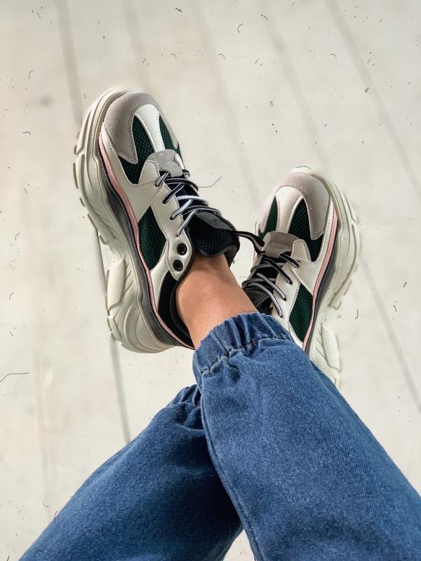 17ecd395a Шикарные новые объемные кроссовки(кроссы) на платформе 36 37 38 39 40 411  фото ...