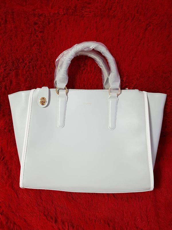 23e5ec82311d Изящная дамская сумка из экокожи с фурнитурой золотого цвета.1 фото ...