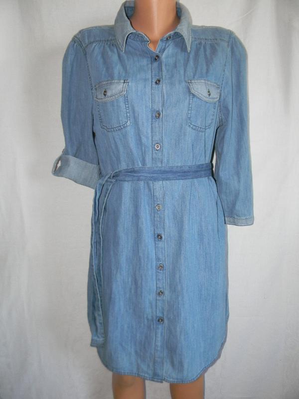 5dc339314ec2c40 Джинсовое платье рубашка f&f F&F, цена - 440 грн, #20294154, купить ...