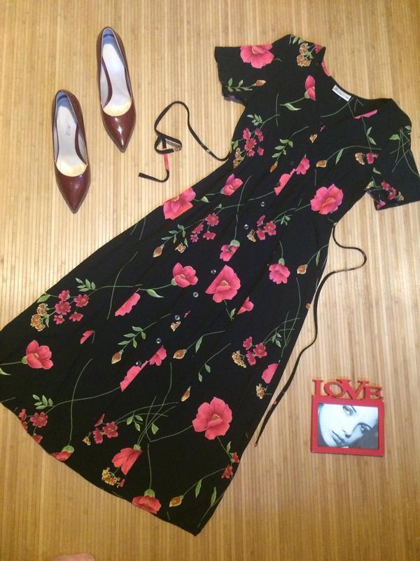 4fef43ac0ed Платье-халат из вискозы