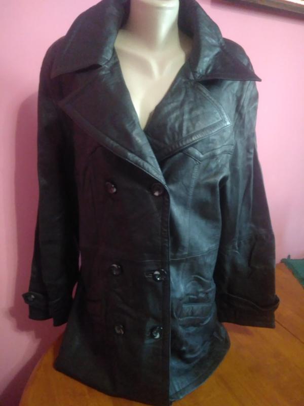 Німецька шкіряна куртка пальто  кожаная куртка1 ... 4914056a232ab