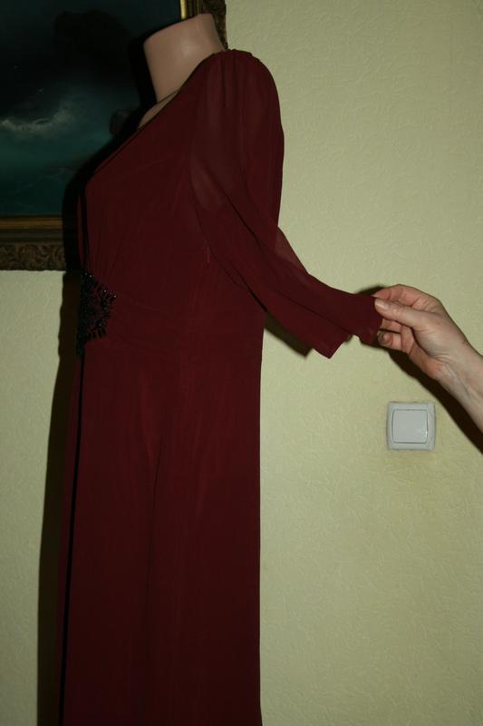 ed0daeaa9b6 ... Изысканное элегантное классическое вечернее платье из натурального шелка  ghost8 фото ...