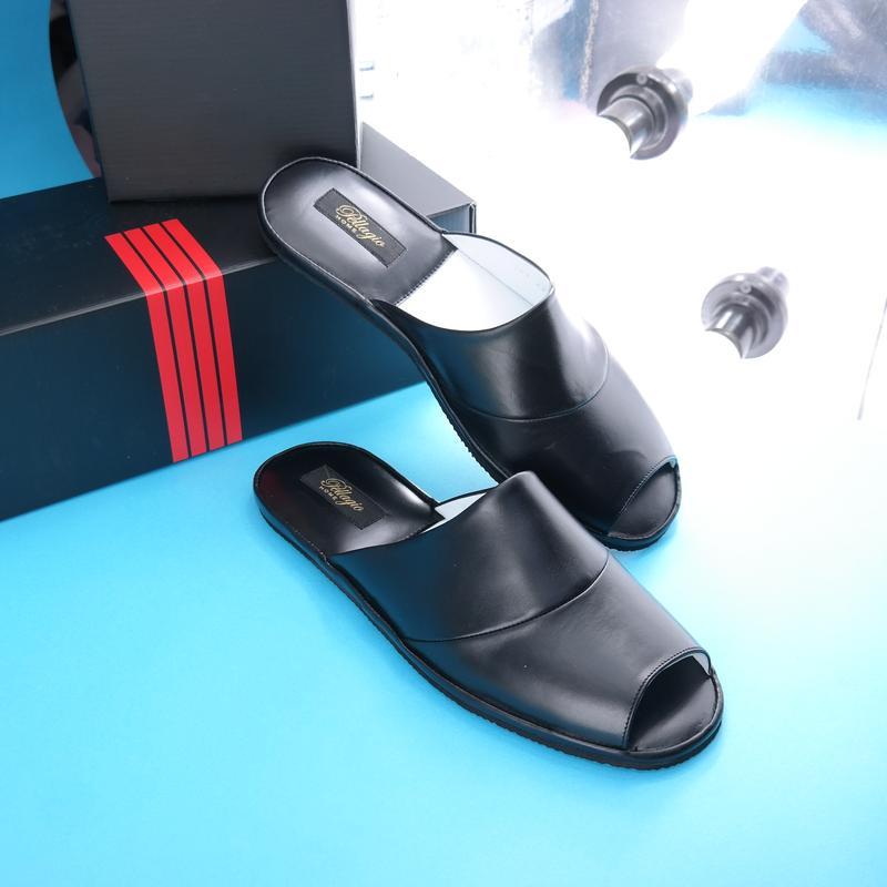 ec0999f541ce5 Кожаные домашние тапочки для мужчин, цена - 850 грн, #20410475 ...