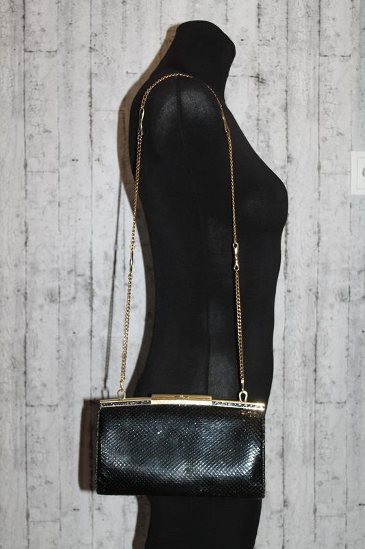 49e98dccd95c Шикарный кожаный клатч из кожи питона.вечерняя сумочка, цена - 580 ...