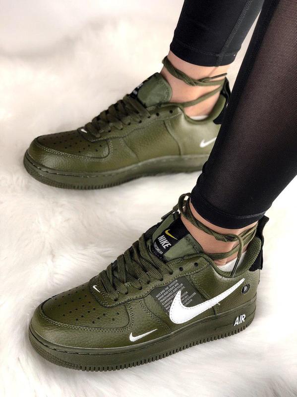 94a0093b Шикарные кроссовки nike air force 1 low olive 😍 (мужские/ женские), ...