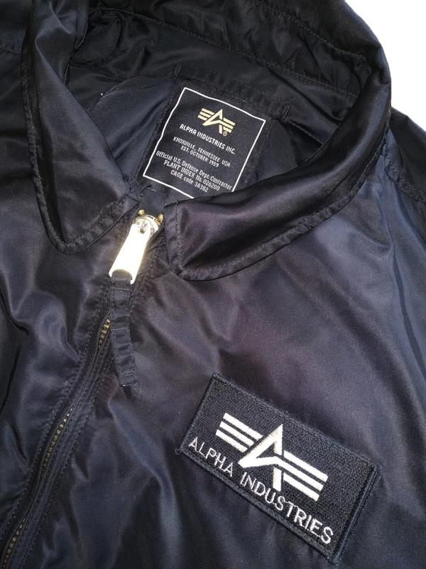 bbca0d3e Alpha industries cwu 45/p black летная куртка Alpha Industries, цена ...