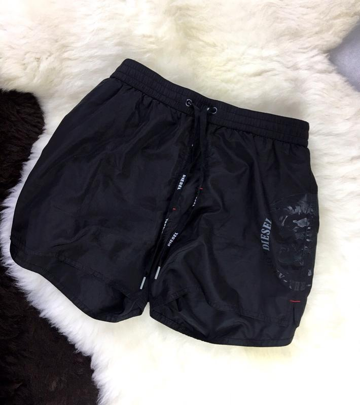 362d12d138e17 Мужские пляжные шорты diesel черного цвета Diesel, цена - 400 грн ...