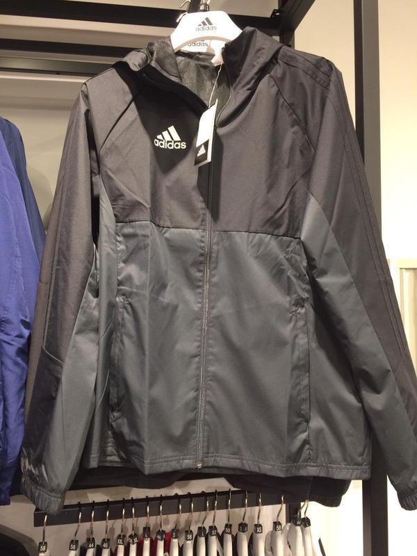 da6dcd4eb2d ... Спортивная ветровка adidas tiro 17 rain jacket ay28894 фото