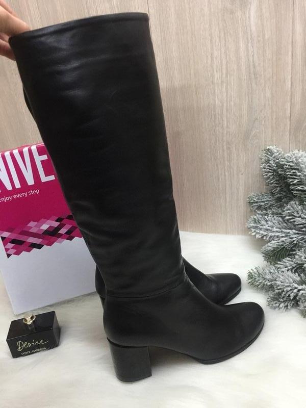 c7f542ae83f932 Зимові шкіряні чоботи європейки зимние кожаные Nivelle, цена - 1100 ...
