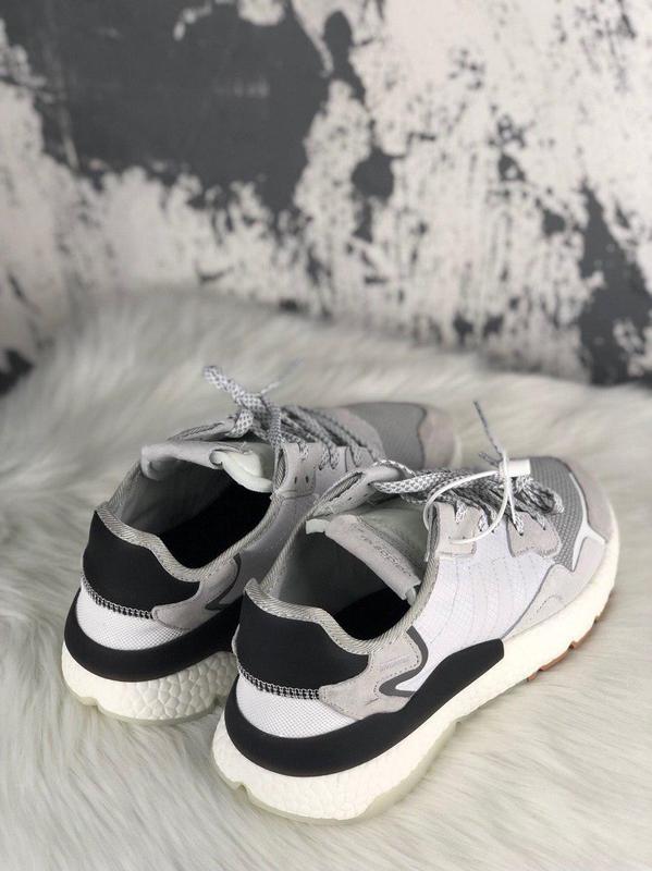 3c4c85e3 ... Шикарные кроссовки adidas nite jogger crystal white (мужские/ женские),  (весна/ ...