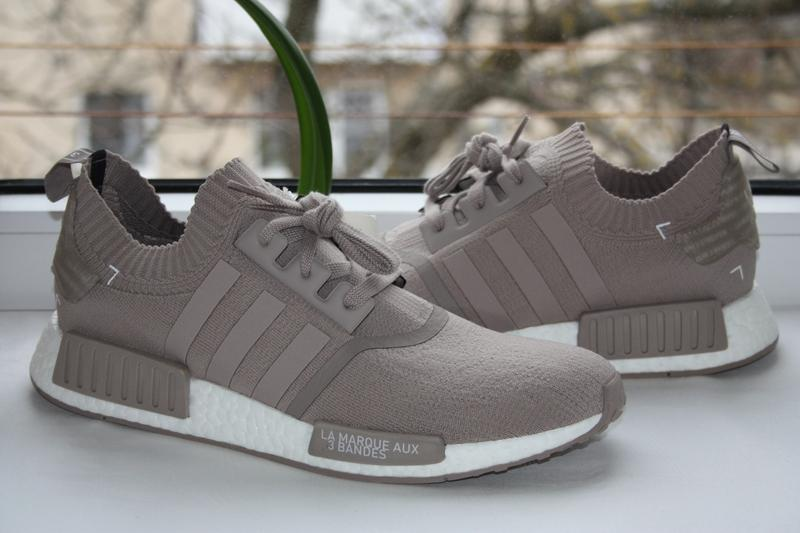 new product 99364 0273c Кроссовки adidas nmd r1 french beige vapour grey (46.5р.) оригинал!! -20%  (Adidas) за 1999 грн.