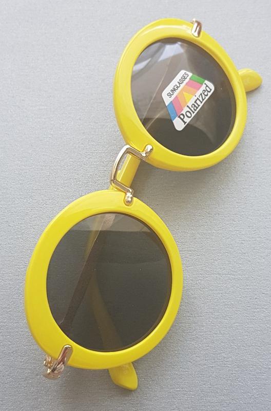 85a5849fb791c Яркие круглые детские очки (polaroid). бесплатная доставка1 фото ...