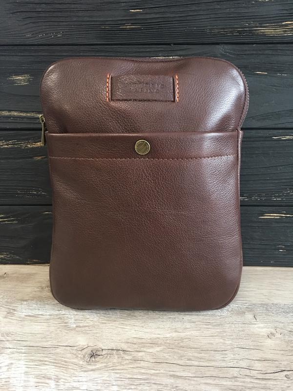 b9ef85a390bb ... Мужская кожаная сумка-планшетка vittorio safino,через плечо, чоловіча  шкіряна сумка4 фото ...