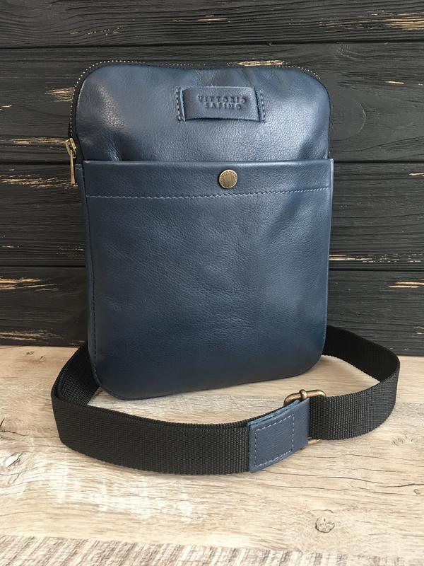 7f756d3f1331 Мужская кожаная сумка-планшетка vittorio safino,через плечо, чоловіча  шкіряна сумка1 фото ...