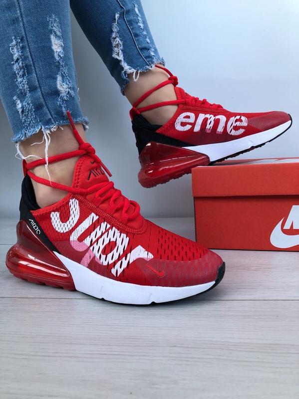 best authentic d816b 3524b Nike air max 270 supreme red кроссовки весна кросівки красные скидка 37-41  за 1150 грн. | Шафа