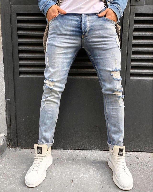 56a377b0bfd Мужские джинсы от king. европейский модный бренд. размер 32-331 ...