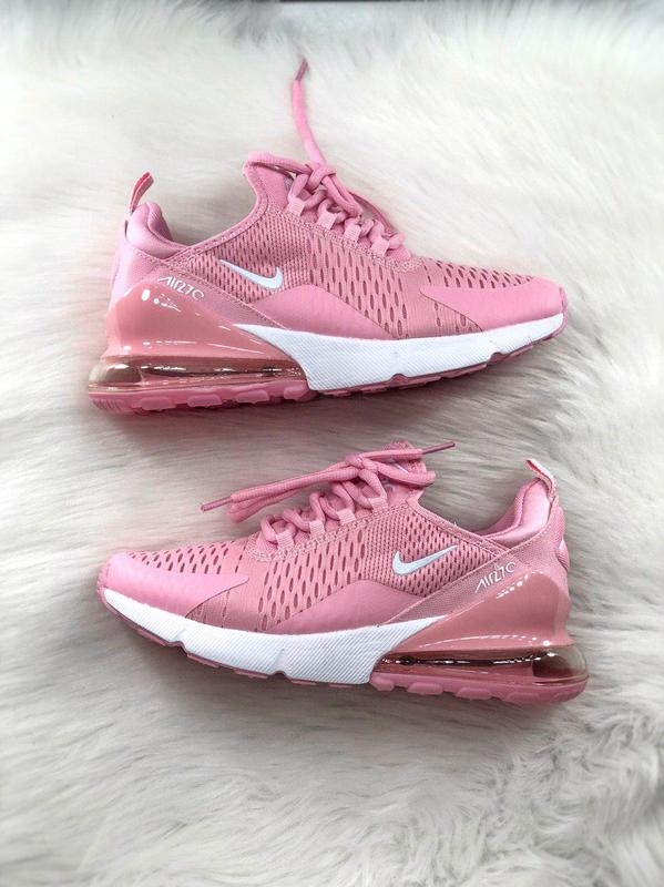 c9b59111 Шикарные женские кроссовки nike air max 270 pink/ white 😍 (весна/ лето/ ...
