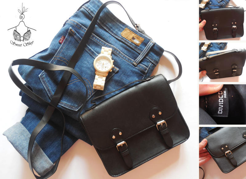 dabbde810c0d Ми-ми-ми)маленькая черная сумочка-портфель через плече h&m H&M ...