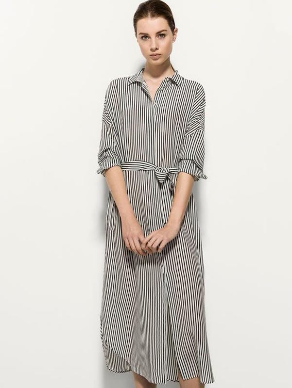 bc72ae37cdd15 Стильное шелковое платье массимо дутти massimo dutti silk shirt dress1 ...