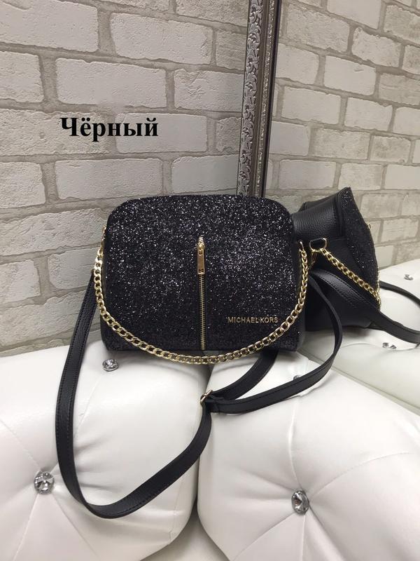 a035e73a4f22 Новая сумка-клатч с глиттером, цвет черный, цена - 425 грн ...