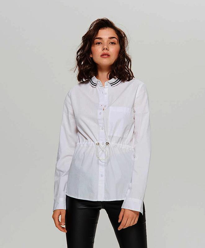 f9019f058e4fc56 Очень стильная и необычная,белоснежная рубашка,натуральная Cropp ...