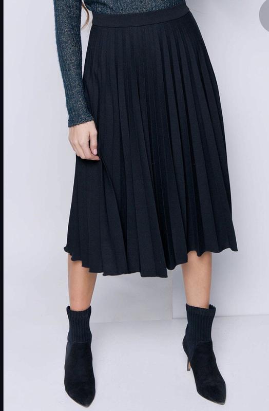 184e03f03bb Плиссированная юбка миди1 ...