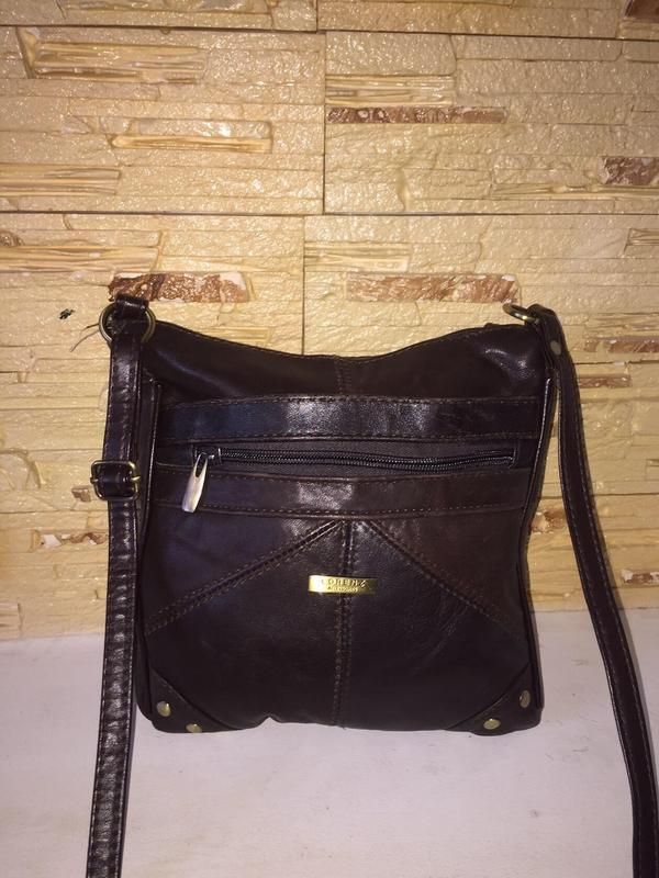 042471b353d8 Кожаная сумка на длинном ремешке, цена - 350 грн, #20843418, купить ...