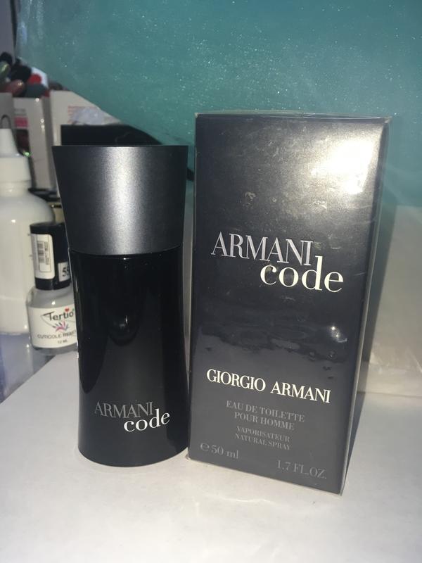 995687b97ce2 Armani code giorgio armani мужская туалетная вода ,50мл,оригинал! за 1890  грн.