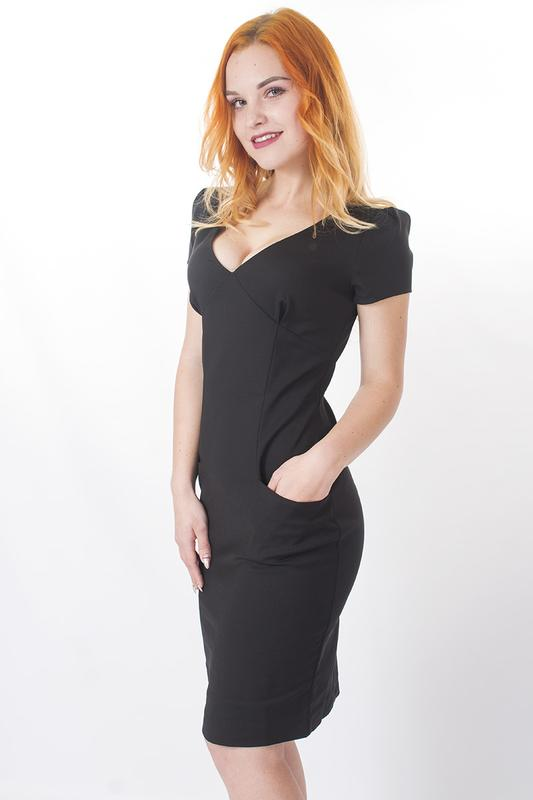f8747d14a8505ea Sale классическое чёрное платье redisabel italy, цена - 1199 грн ...