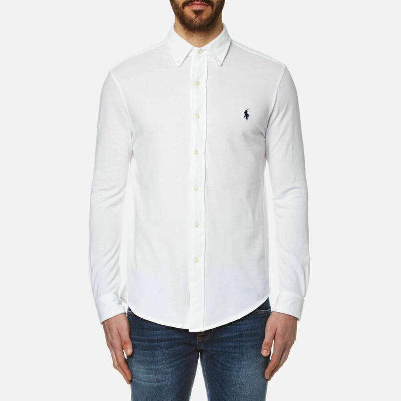 051c05e3d56ebd9 Белая рубашка бренд polo ralph lauren производство италия оригинал!1 фото  ...