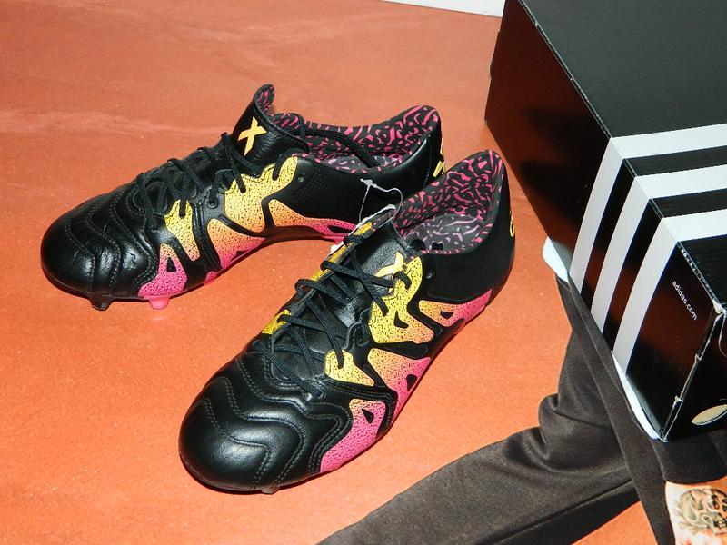 25a27b14 Бутсы для игры в футбол муж. adidas x 15.1 fg leather (арт. aq5791 ...