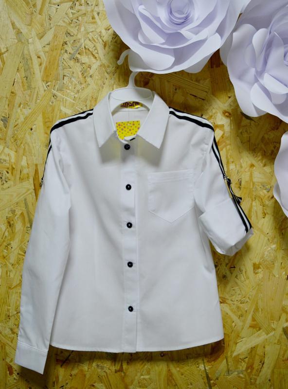 b56308e41f4 Хлопковая рубашка для девочек1 ...