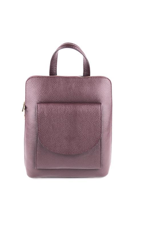 93fc0d4f22e4 Кожаный рюкзак для стильной девушки италия (код 0069) Vera Pelle ...