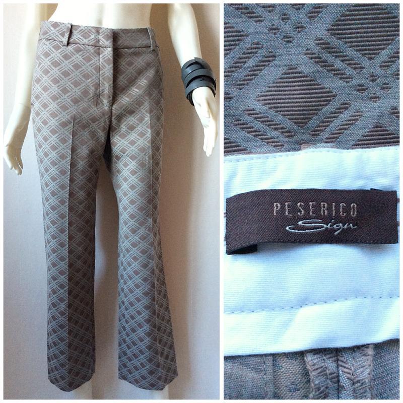 78e69fedb2c9 Peserico итальянские стильные брюки (Италия) за 500 грн.