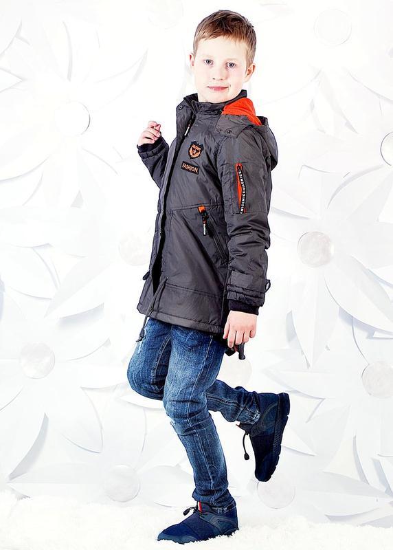 Куртка-парка на синтепоне для мальчиков 116,122,128,134 рр ...