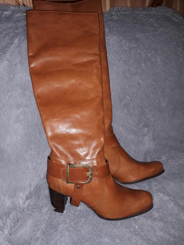 389d3dbe1 Весенняя кожаная обувь сапоги zinda, испания, 40 размер, цена - 650 ...