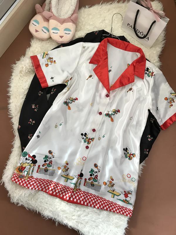 208ee64c8f4 Шелковая пижамная кофта с микки маусом disney ❤️1 фото ...