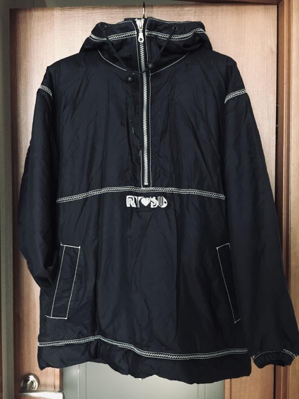 6b2a9a5c Канадская мужская спортивная oversize лыжная куртка ветровка анорак на  весну. l/xl.1 ...
